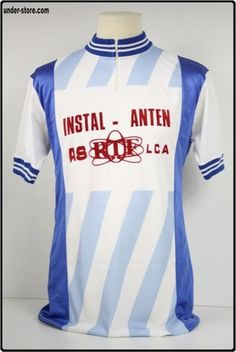 MAILLOT CYCLISME INSTAL ANTEN VINTAGE CYCLE rfFTO351