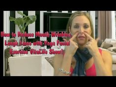 Yoga Facial Exercise : How to Reduce Mouth Wrinkles, Laugh Lines - VitaLife Show Episode 126 - YouTube