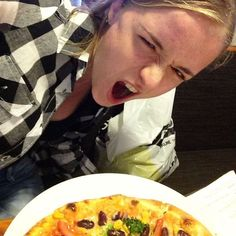 Pizza isn't scary. Face your fear foods in order to overcome them ;) #fearfood #anorexia #eatingdisorder #recovery