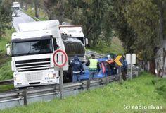 Campomaiornews: Acidente provoca um ferido ligeiro na Estrada Naci...
