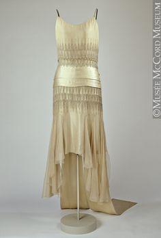 Dress Lucien Lelong, 1920s The McCord Museum