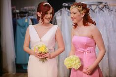 Elegant destination bridal and pink bridesmaid. Springtime Perfection!
