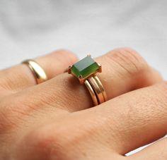 Pounamu Wedding Ring by Marama Jewellery NZ Jewellery Nz, New Zealand Jewellery, Wedding Ring Designs, Wedding Rings, Parisian Chic, Precious Metals, Handcrafted Jewelry, Solid Gold, Jewelry Making