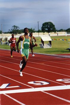 Michael Johnson - Baylor track star and Olympic icon.