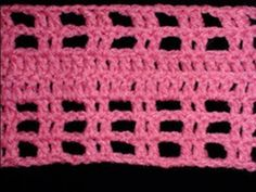 Art of Crochet by Teresa - Left Hand Mesh Crochet Pattern Stitch