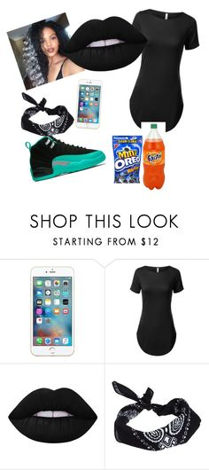 """"""".👅"""" by wynteranderson ❤ liked on Polyvore featuring Lime Crime and ASOS"""