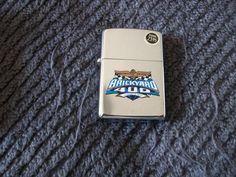 Zippo Nascar Lighter New Old Stock Mint Brickyard 400 by RickyBees