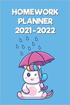 Amazon.com: Homework Planner 2021-2022: Academic Year 2021 To 2022 Homework Planner elementary and middle school students (Unicorn With Umbrella Cover Design): 9798469301974: House, Rana Book Homework Planner, Christmas Hoodie, Umbrella Cover, Kindle App, Cover Design, Middle School, Free Apps, Unicorn, Students