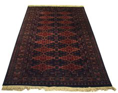 Antique Hand-knotted Persian Area Rug Wool Oriental Carpet Cashmere Wool Carpet #Unbranded #carpet