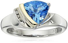 Absolutely love this blue diamond rings! This ring look just like the one I saw at my local jewelers for $500. It's just as beautiful.