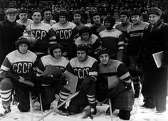 Great Moments In Hockey History: Russian Surprise In 1954 | The gold medal showdown did indeed turn out to be a one-sided contest. Only it was the Soviets finishing their shocking debut with a exclamation point. Improbably and impressively the Soviets defeated Canada 7-2 to capture their first World Hockey Championship in their very first try.
