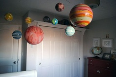 We want to use a solar system mobile for Baby Few's room!