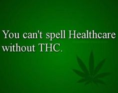 THC the cure for all things  (marijuana cannabis)