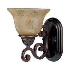 Maxim Lighting 11230S Symphony Wall Sconce, Oil Rubbed Bronze,