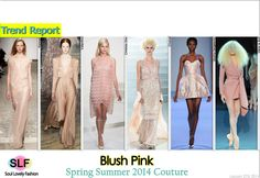 Pastel Blush Pink #Fashion Trend for Spring Summer 2014 #Couture #Pastel #Colors