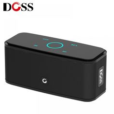 DOSS Touch Control Bluetooth Speaker Portable Wireless Stereo Sound Box with Bass and Built-in Mic Hands free For Phone Wireless Speakers, Bluetooth, Audio Crossover, Bass, Phone, Touch, Free Shipping, Countries, Electronics Gadgets