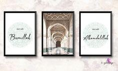 Islamic Decor, Islamic Wall Art, Islamic Posters, Islamic Love Quotes, Alhamdulillah, Image Transparent, Ramadan, Nursery Decor Boy, Arabic Calligraphy Art