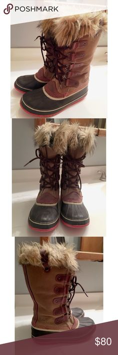 Sorel Joan of Arctic Boot Good used condition Super warm boots Great quality 👌🏼 Size 8 🌟 Thanks for looking! Sorel Shoes Winter & Rain Boots