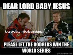 PLEASE sweet little long haired baby jesus laying there in your little hay crib. . .let the Dodgers win Minnesota Wild, San Francisco Giants, Nba Memes, Sports Memes, Nba Funny, Baseball Season, Mens Sunglasses, Arizona Diamondbacks, Funny Cards