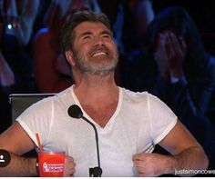 Posted by JustSimonCowell on Instagram  Simon at AGT Simon Cowell, Polo Shirt, Polo Ralph Lauren, Mens Tops, Shirts, Instagram, Polos, Shirt, Polo Shirts