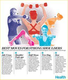 best moves for strong shoulders