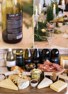 onehope christmas party wine and cheese platter