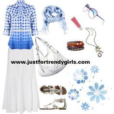 Casual Summer Hijab Clothing | justfortrendygirls