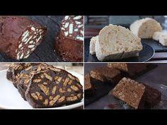 Κορμός Σοκολάτας (Μωσαϊκό)! 4 ΣΥΝΤΑΓΕΣ ΦΩΤΙΑ - Chocolate Salami - YouTube Bread, Cookies, Chocolate, Desserts, Recipes, Youtube, Food, Crack Crackers, Tailgate Desserts