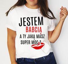 Koszulka na Dzień Babci T Shirts For Women, Tops, Fashion, Moda, Fashion Styles, Fashion Illustrations