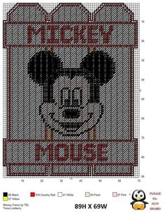 11/15/18 new projects Plastic Canvas Christmas, Plastic Canvas Crafts, Plastic Canvas Patterns, Mickey Mouse Picture Frames, Mickey Mouse Pictures, Elderly Crafts, Tooth Fairy Box, Disney Canvas, Kids Blankets
