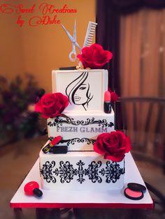 Hair Salon Cake
