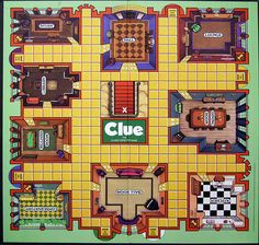 clue game board printable - Google Search