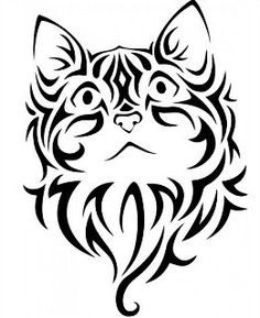 Cat embroidery design sized for hoops - home decor - animal embroidery - feline embroidery - pet embroidery Cat Embroidery, Japanese Embroidery, Learn Embroidery, Machine Embroidery Patterns, Face Stencils, Stencil Art, Stenciling, Cat Machines, Kirigami