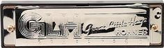 Great Little Harp Harmonica in Chrome - Key of C by Hohner. $12.58. GLH Features: -Harmonica.-Material: Plastic comb.-10 Holes, 20 reeds.-Key of C. Color/Finish: -Color: Chrome. Dimensions: -Width: 4''.