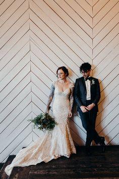 Union/Pine - Portland Wedding - couple photo