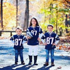 Squad #LilPatsFans #Patriots