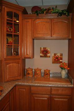 Oak Kitchen Cabinets | Cinnamon oak Kitchen cabinets Design | kitchen cabinets Home Design ...