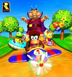 31 Best Diddy Kong Racing Images Diddy Kong Racing Videogames