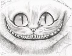 cheshire cat drawing - Google Search