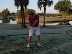 Gavin Dear on his way to second place on the golfslinger.com tour Florida wearing our red polo #golow #winning #golf