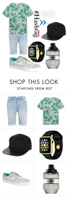"""L.4"" by hannahjerao on Polyvore featuring Topman, Gucci, New Era, NIKE, Viktor & Rolf, men's fashion and menswear"