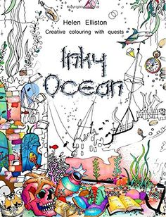 Inky Ocean: Creative colouring with quests by Helen Elliston http://www.amazon.com/dp/1517316901/ref=cm_sw_r_pi_dp_xrzpwb01F5VW4