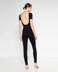 BALLET LEGGINGS WITH CROSSOVER ANKLE STRAP-Ballet collection-GYMWEAR-WOMAN | ZARA Hong Kong S.A.R. of China