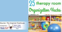 Pediatric Therapy Corner: 25 Organization Hacks for the Therapy RoomPediatric Therapy Corner: 25 Organization Hacks for the Therapy Room