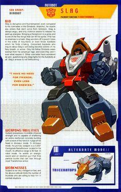 Transformer of the Day: Slag