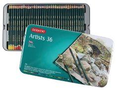 DERWENT SET ARTIST FARGEBL.a36