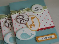 stampin with beemybear: Taufe Luis