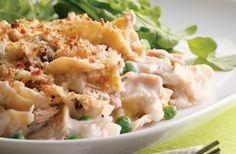 Tuna noodle casserole #recipe - a family favourite!