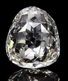 The Beau Sancy diamond being auctioned in Geneva. Expected to fetch US$2-US$4 million.