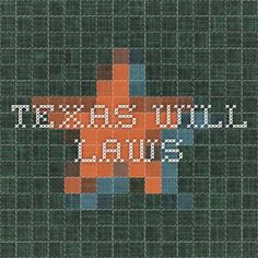 Texas Will Laws